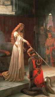 Edmund Blair Leighton, The Accolade